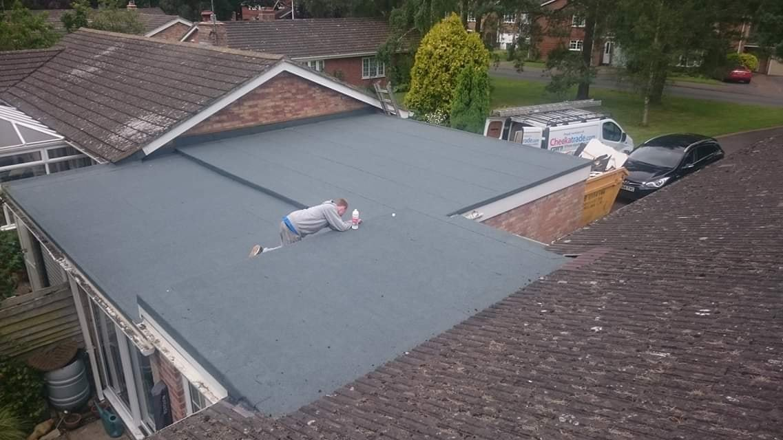Flat Roofing Reading - Flat Roofs Berkshire - L Hill Roofing Ltd