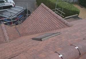 An Image Showing A Slate Roof